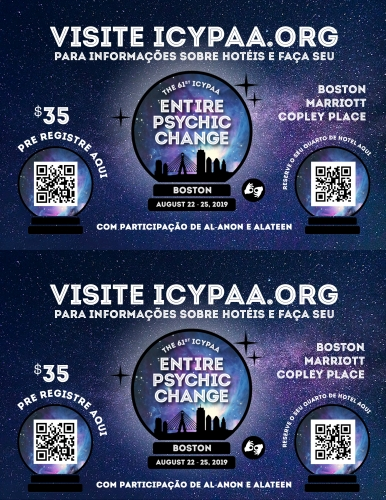 ICYPAA Flyer in Portuguese