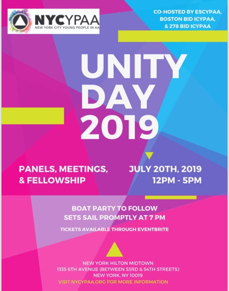 NYC Unity Day Flyer