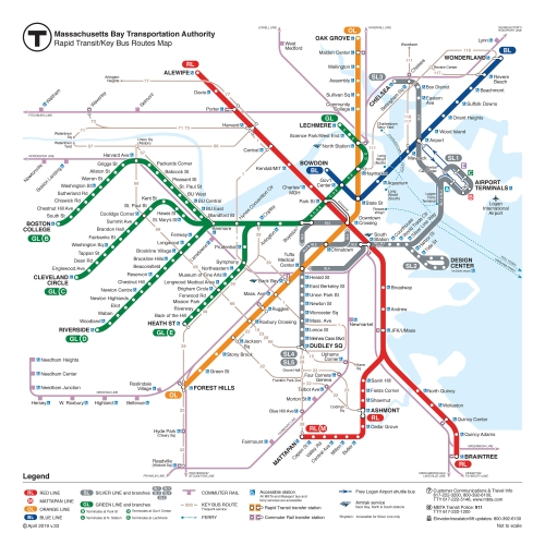 map of mbta